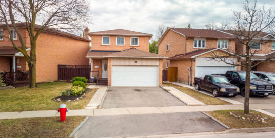 32 Royal Palm Drive, Brampton